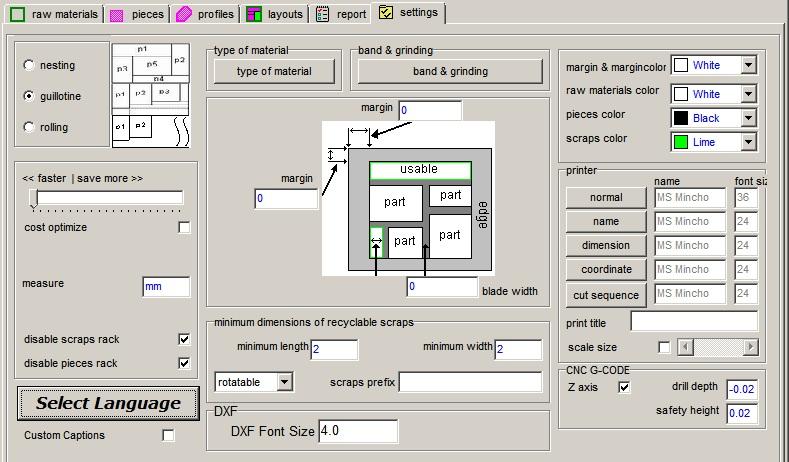 sheet cutting optimizer - cutting software for sheet metal